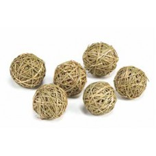 "GRASS BALL 2.5"" Natural  (BULK)"